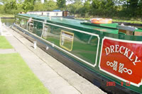 Dreckly a canal boat built by ABC Leisure.