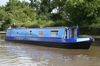 Lindallen, a canal boat built by ABC Leisure