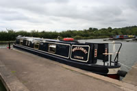 Whileaway a narrowboat built by ABC Leisure